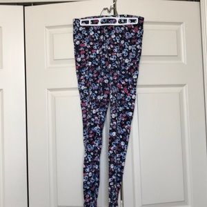 Soft floral leggings
